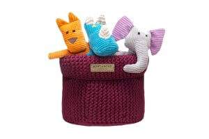 basket for dog toys cotton bordo toy felix roy dumbo bowl and bone republic ps1sa