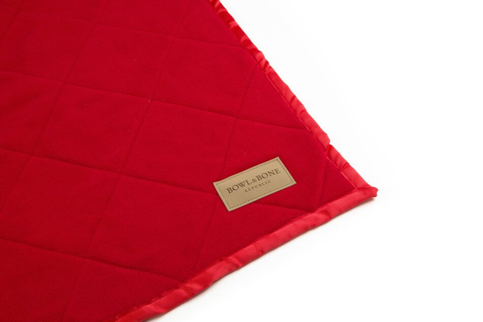 dog blanket royal red blue bowlandbonerepublic ps1sa