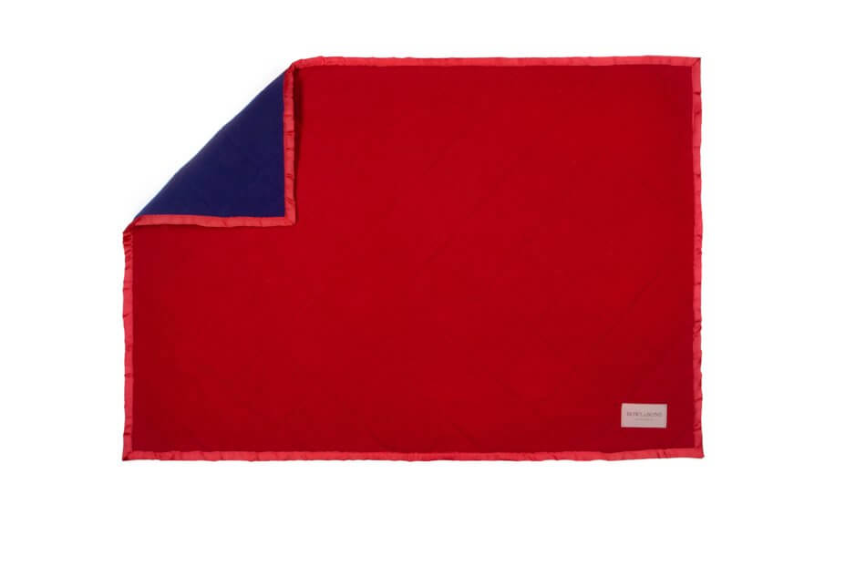 dog blanket royal red blue bowl and bone republic ps2sa