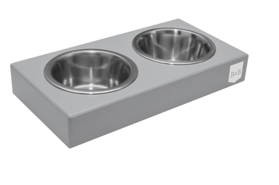 dog bowl duo grey wooden bowl and bone republic ps1sa