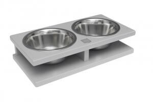 dog bowl grande grey wooden bowl and bone republic ps1sa