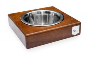 dog bowl solo amber light brown wooden bowl and bone republic ps1sa