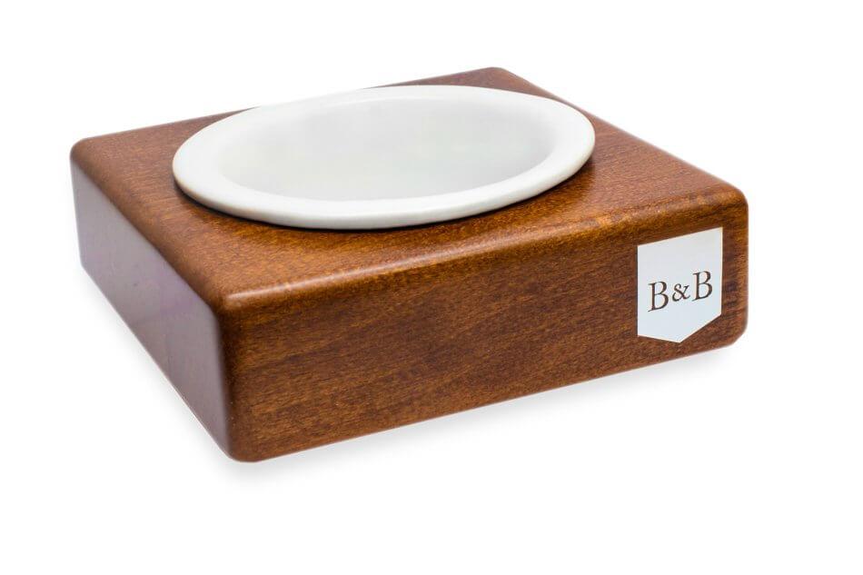 dog bowl solo ceramic amber light brown bowlandbonerepublic ps1sa