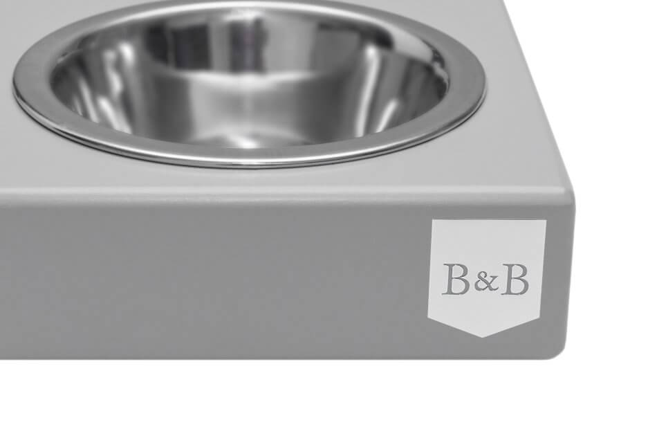 dog bowl solo grey wooden bowlandbonerepublic ps2sa