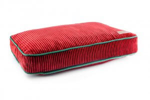 dog cushion bed deco ruby red bowl and bone republic ps1sa