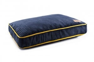 dog cushion bed deco sapphire blue bowl and bone republic ps1sa