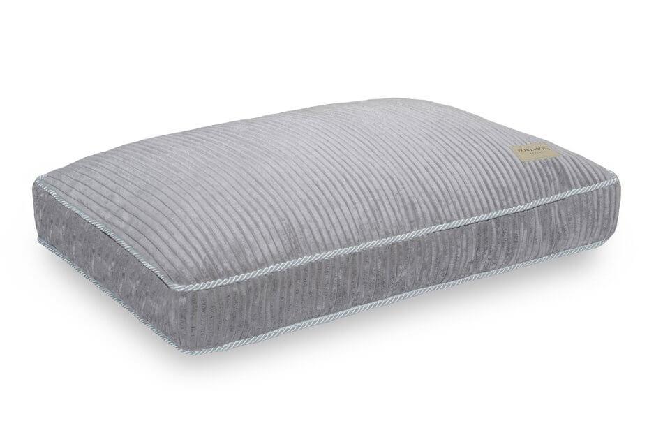 dog cushion bed deco silver grey bowlandbonerepublic ps1sa