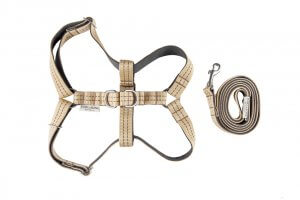 dog harness lead active khaki bowl and bone republic ps1sa