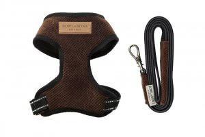dog harness lead candy brown bowl and bone republic ps1sa