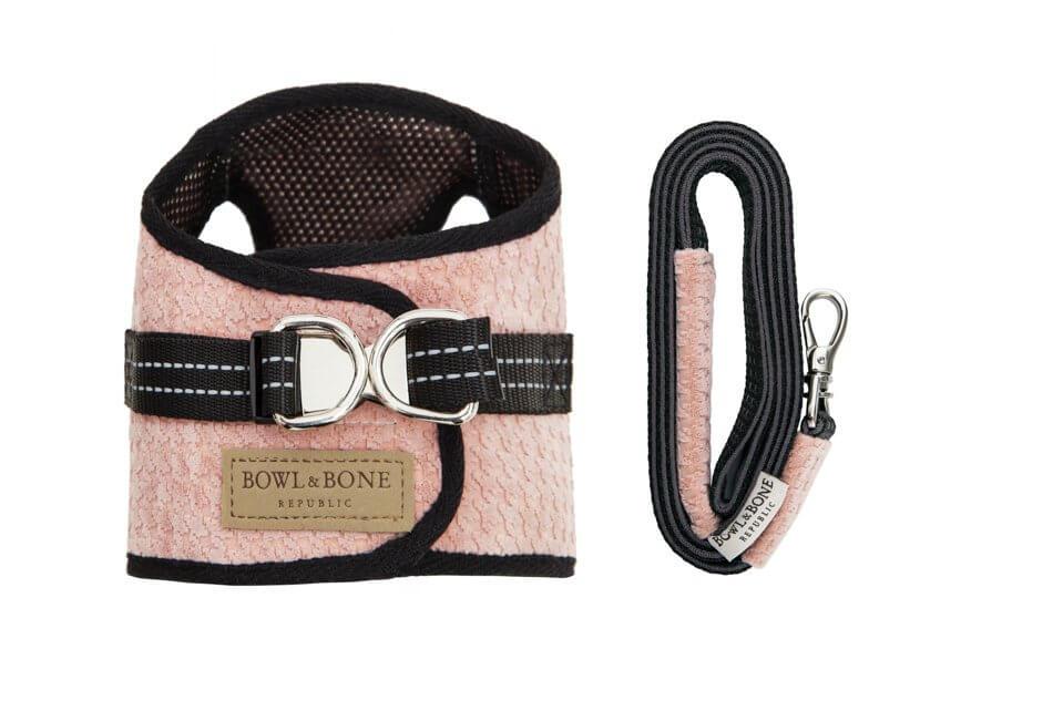 dog harness lead soho rose bowl and bone republic ps1sa