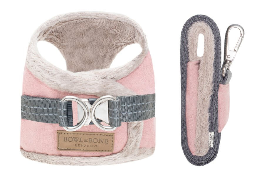 dog harness lead yeti rose bowl and bone republic ps1sa