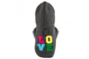 dog hoodie love graphite bowl and bone republic ps1sa