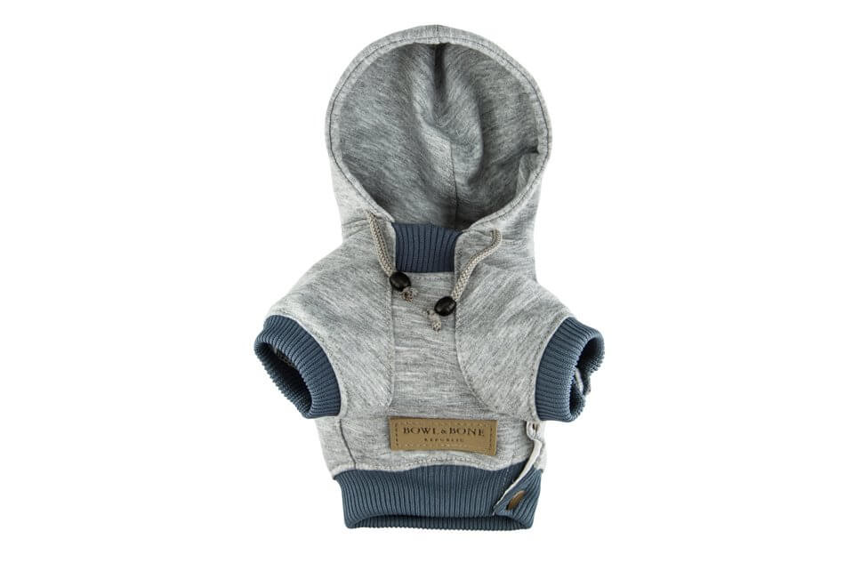 dog hoodie love grey bowl and bone republic ps2sae