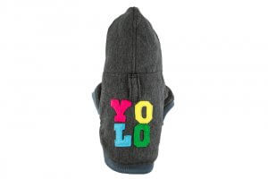 dog hoodie yolo graphite bowl and bone republic ps1sa