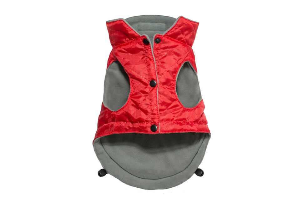dog jacket spirit red bowl and bone republic ps2sa