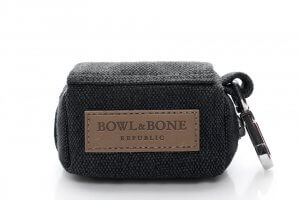 dog waste bag holder mini black bowl and bone republic ps1sa