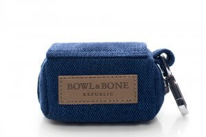 dog waste bag holder mini navy bowl and bone republic ps1sa