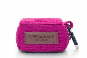 dog waste bag holder mini pink bowl and bone republic ps1sa