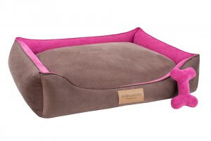 dog bed classic pink bowl and bone republic ps1sa