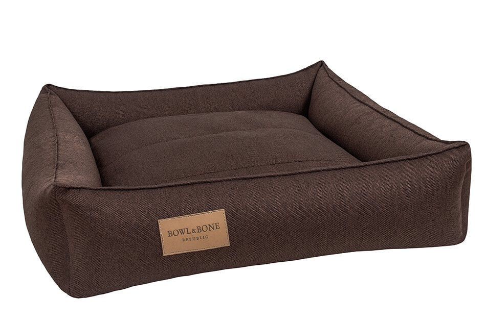 dog bed urban brown bowl and bone republic ps1sa