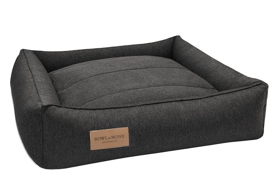dog bed urban graphite bowl and bone republic ps1sa
