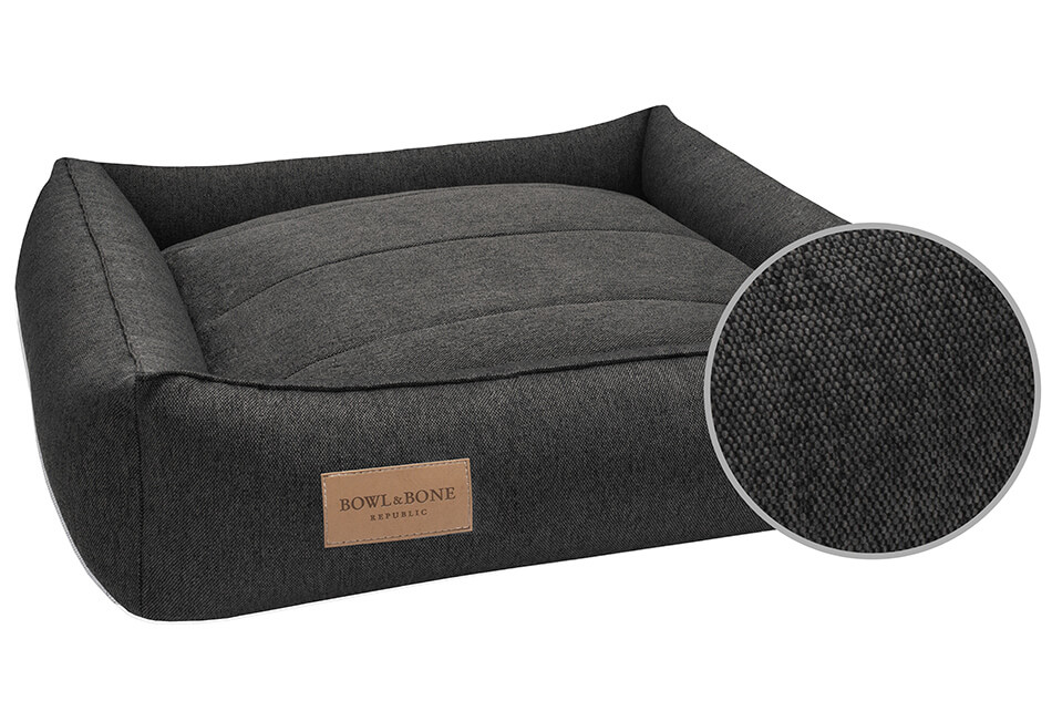 dog bed urban graphite bowl and bone republic ps3sa
