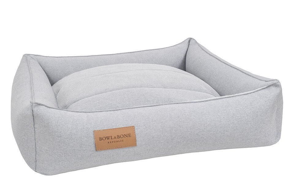 dog bed urban grey bowl and bone republic ps1sa
