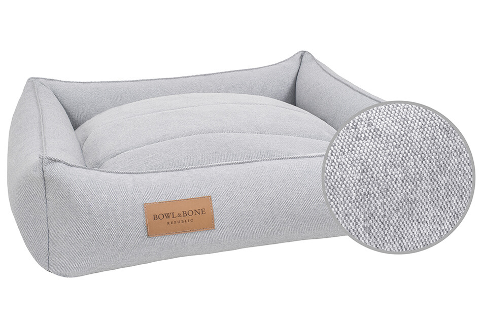 dog bed urban grey bowl and bone republic ps3sa