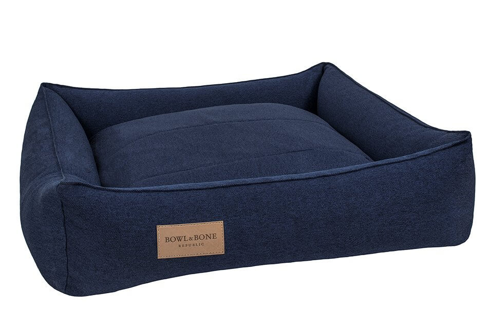 dog bed urban navy bowl and bone republic ps1sa