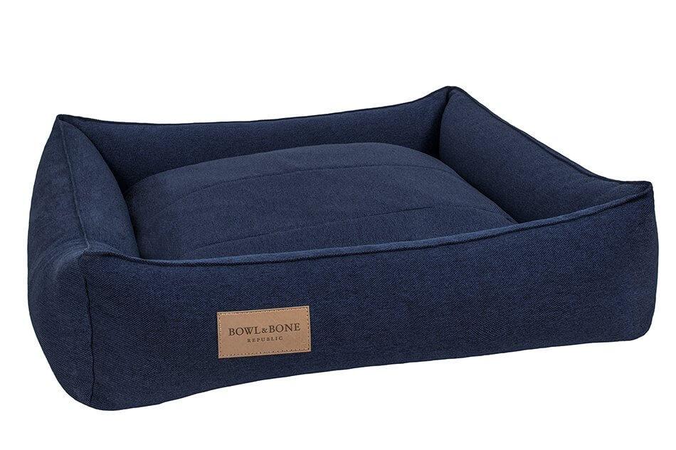 navy dog bed urban bowlandbonerepublic