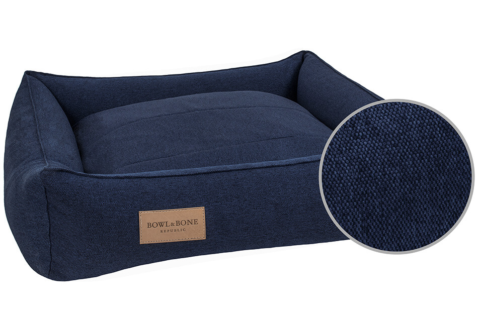 dog bed urban navy bowl and bone republic ps3sa