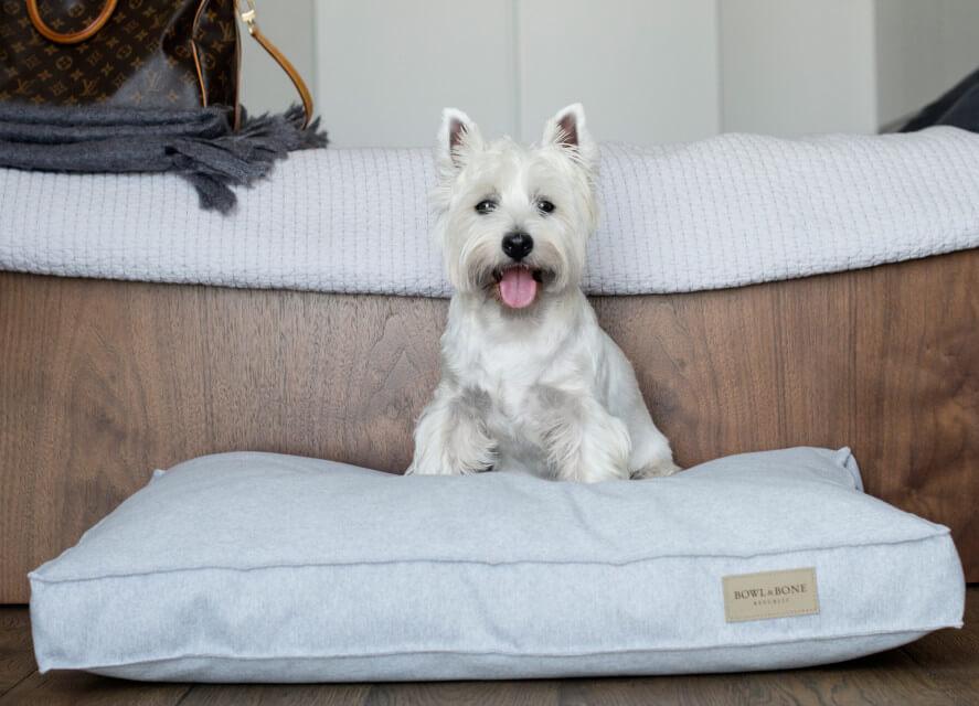dog cushion bed loft grey bowlandbonerepublic ls2sa
