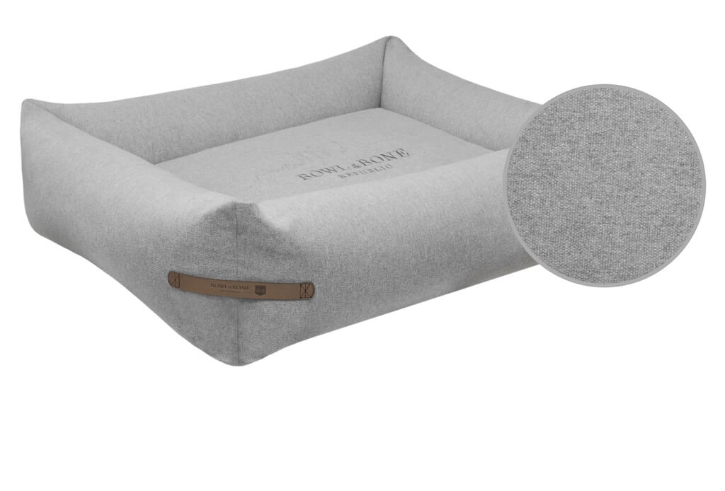 dog bed loft grey bowl and bone republic ps1sa magnifier