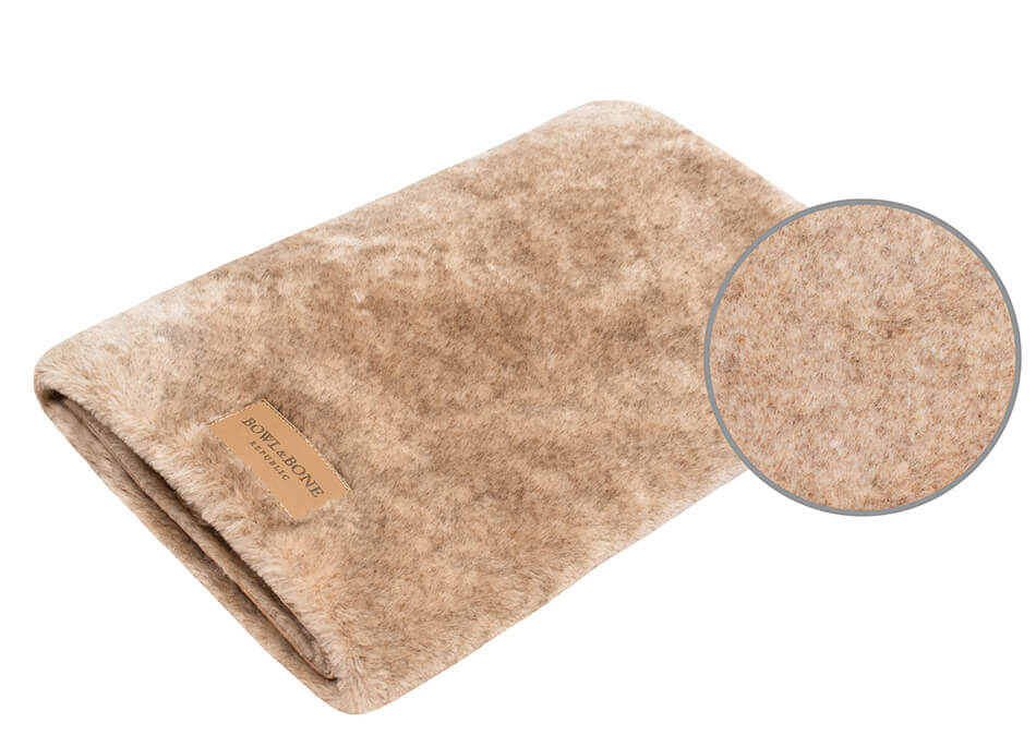 dog blanket nap brown bowl and bone republic magnifier