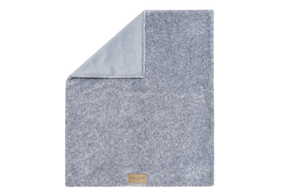 dog blanket nap grey bowl and bone republic ps2sa