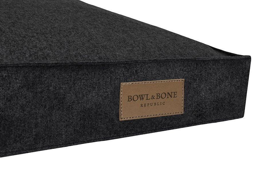 dog cushion bed loft graphite bowl and bone republic ps2sa