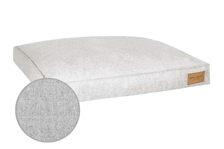 dog cushion bed loft grey bowlandbonerepublic magnifier