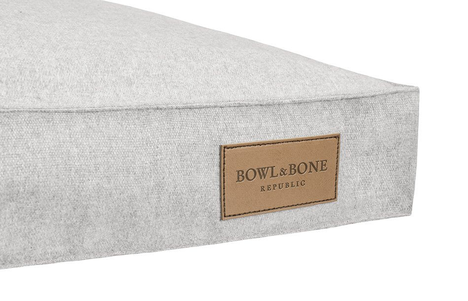 dog cushion bed lodt grey bowl and bone republic ps2sa