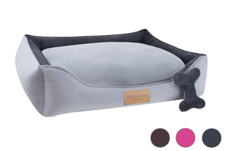 dog bed classic grey made to measure bowlandbonerepublic ps1sa