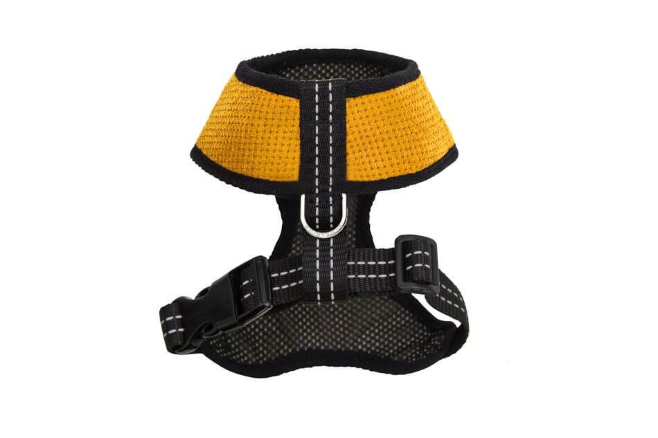 dog harness candy yellow bowlandbonerepublic ps2sa
