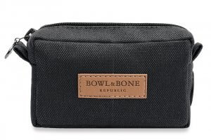 dog treat bag MIDI black bowl and bone republic ps1sa