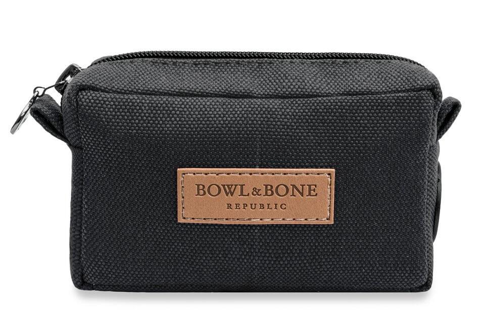 dog treat bag MIDI black bowl and bone republic ps1sa