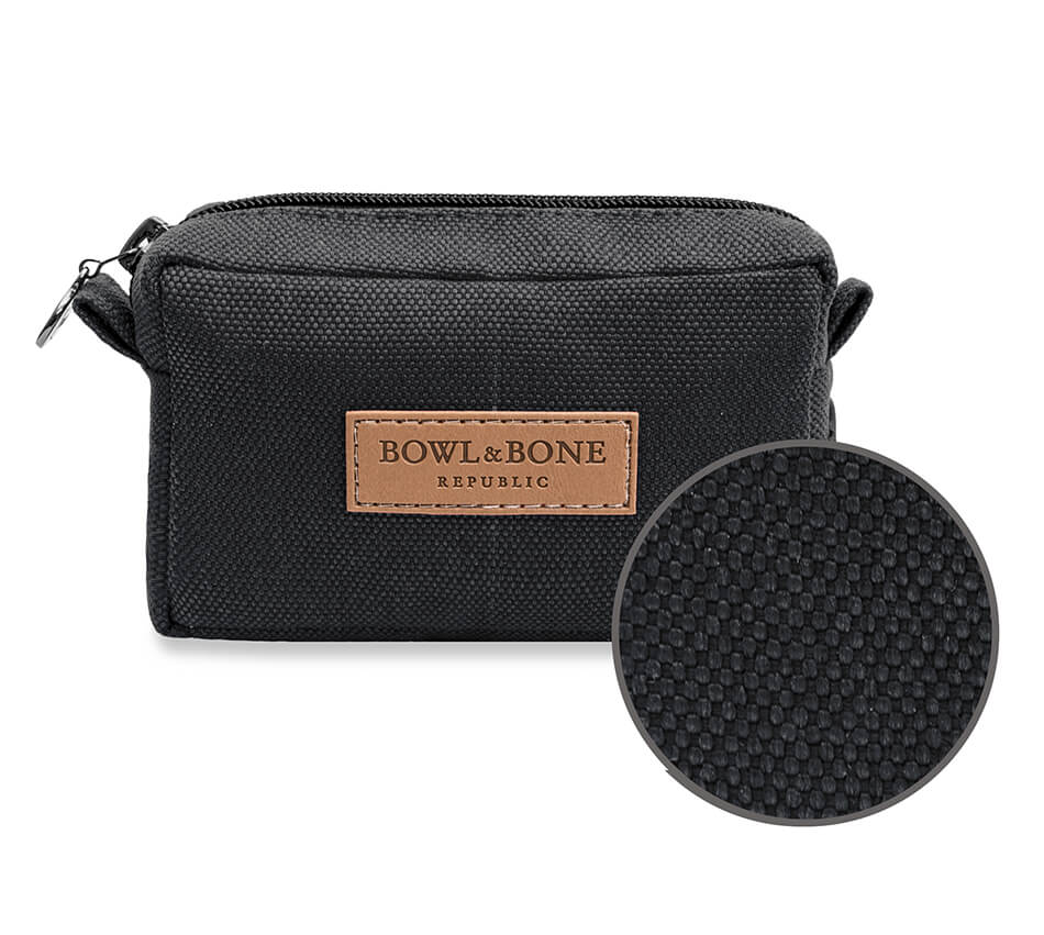 dog treat bag MIDI black bowl and bone republic ps1sa magnifier