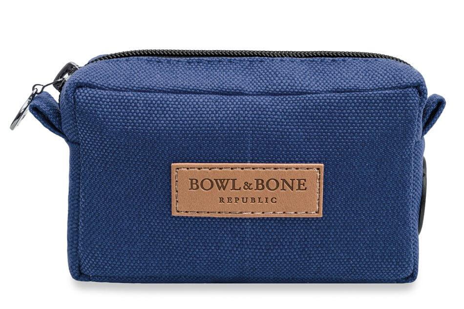 dog treat bag MIDI blue bowl and bone republic ps1sa