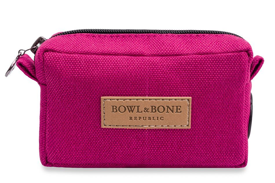 dog treat bag MIDI pink bowl and bone republic ps1sa