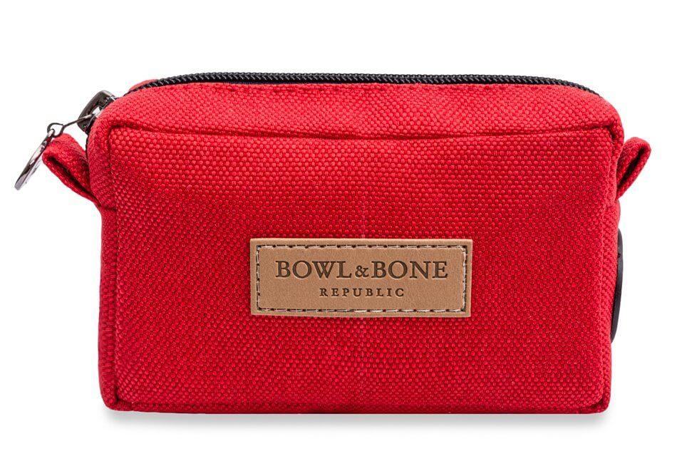 dog treat bag MIDI red bowl and bone republic ps1sa