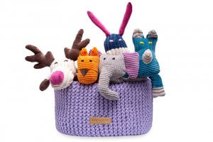 basket for dog toys double lily bowl and bone republic ps1sa