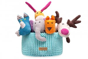 basket for dog toys double mint bowl and bone republic ps1sa