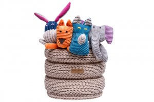basket for dog toys ring beige bowl and bone republic ps1sa