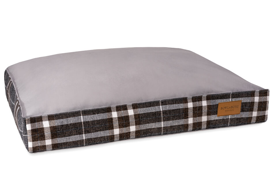 dog cushion bed scott blue bowl and bone republic ps1sa